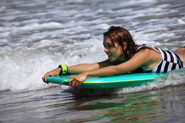 surfer - woman
