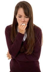 Coughing cigarettes