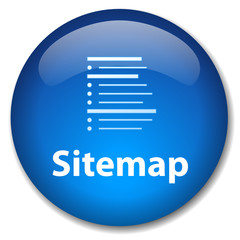 SITEMAP Web Button (website webpage internet links info icon)