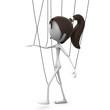 Mrs. Emotion V3a Marionette Girl brown