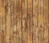 Distressed vertical wood board surface seamlessly tileable poster