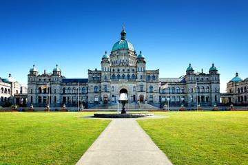 Parlament von Victoria, Vancouver Island, Kanada