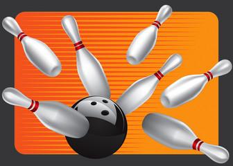 Bowling Ball Design Element Set 3