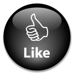 LIKE Web Button (share social network friends community buzz)