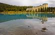 Reflection over Lake Louise, Banff National Park, Canada
