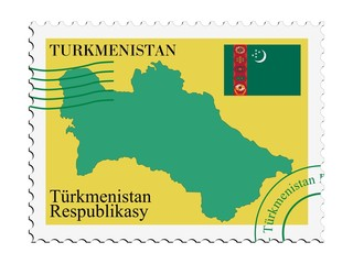 mail to/from Turkmenistan