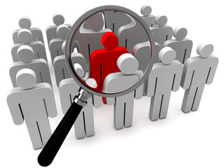 Network people job searching