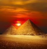 Fototapety Giza valley