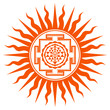 Spiritual Shree Yantra Design
