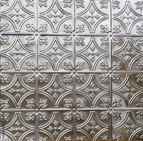beautiful tin ceiling or wall tile