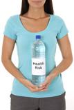 Reusable water bottle - Health risk poster