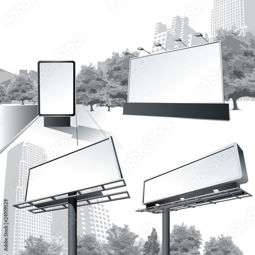 Vector Outdoor Billboard