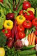 Detaily fotografie Složení s syrovou zeleninu