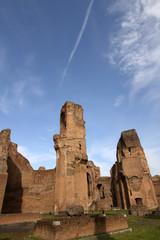 Terme di Caracalla (Baths of Caracalla) in Rome, Italy