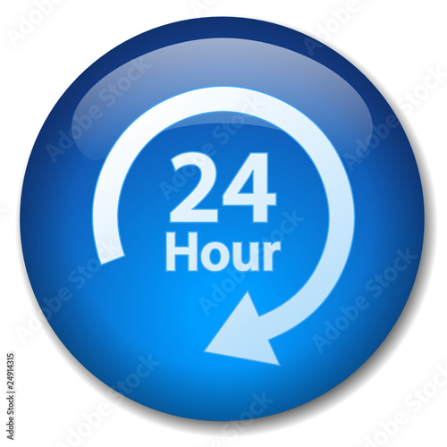 24 HOUR Web Button (7 day opening hours on duty customer service