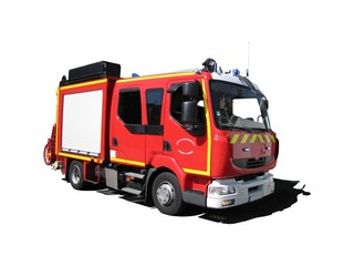 Camion de pompiers ' Fourgon pompe-tonne léger '