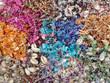 Seashell beads texture