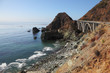 The  bridge on the Pacific coast of the USA