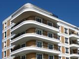 Fototapety Moderner Wohnungsbau