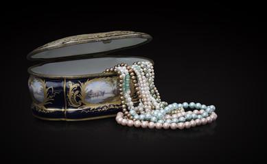 Sevres y Perlas