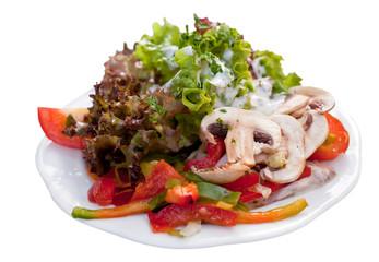 Gemischter Salat freistehend