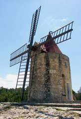 moulin de Daudet à Fontvieille, France