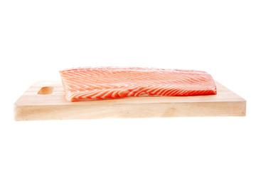 big salmon chunk