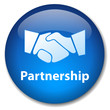 PARTNERSHIP Web Button (handshake contract business contracts)