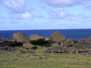 les moais couches