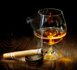 Cigar And Cognac - 24943502