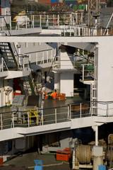 Cargoship decks