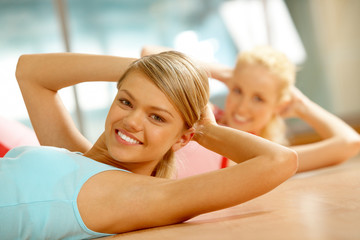 Fitness in gym