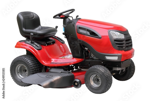 Lawn Tractor Isolated - 24953585