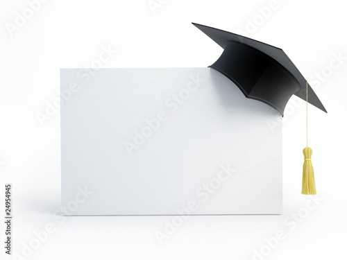 canvas print picture graduation cap blank