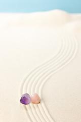 パワーストーン(天然石)と砂紋