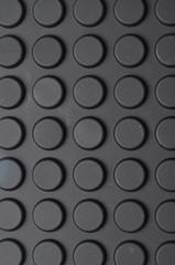 circular black pad wall paper
