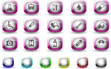 Healthcare and Pharma icons TV Series