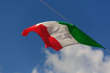 la bandiera d'italia