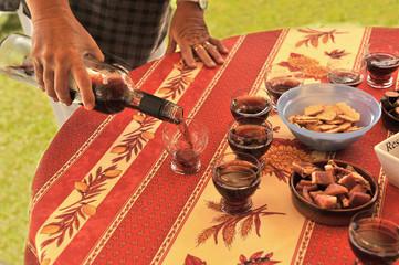 L'apéro au vin cuit