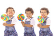 Lollipop triplets