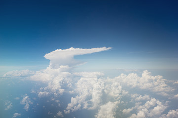 exotic cloud formation shape