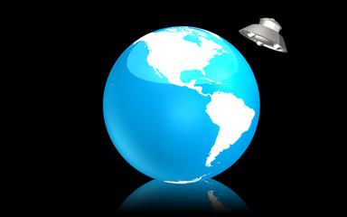 The blue earth