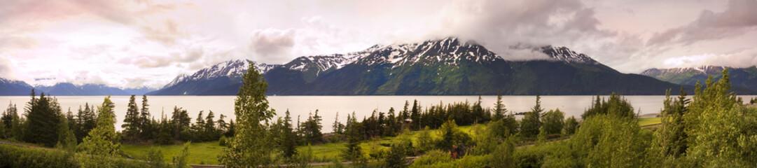 Panorama of alaska