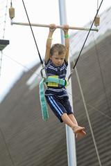 école du cirque : trapèze volant
