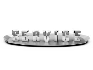 Service Plate Silver