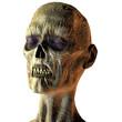 Portrait eines Zombies