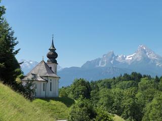 Bayern, Oberbayern, Ramsau, Watzmann