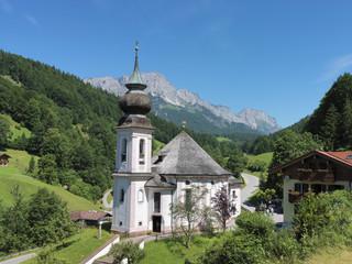 Bayern, Oberbayern, Ramsau, Kirche