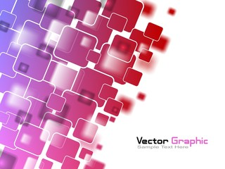 Vector Pink Squares