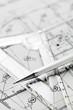 plan d'architecte en gros plan - 24978130